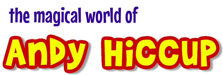 Logo for Andy Hiccup, Bromley children's party entertainer